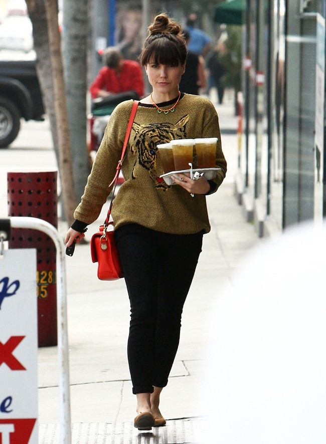 Sophia Bush à West Hollywood le 5 mars 2013