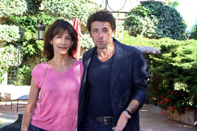 Sophie Marceau et Patrick Bruel à Aix en Provence le 9 septembre 2014