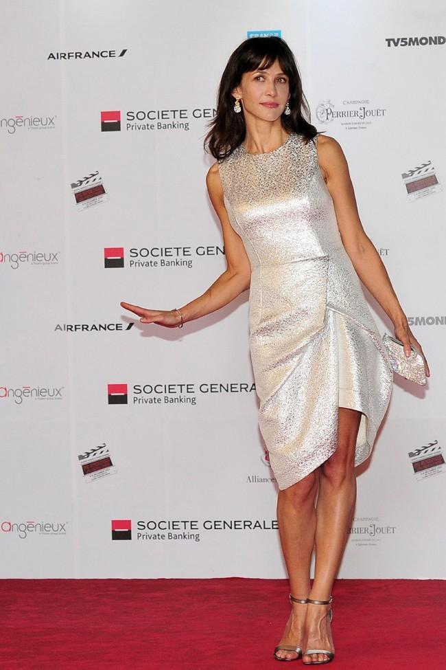 Sophie Marceau le 5 décembre 2012 à Singapoure