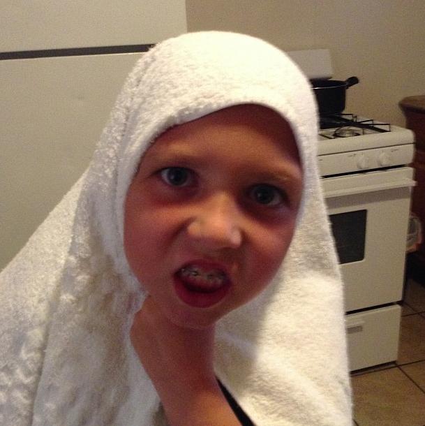 Sophie Nélisse est la grande soeur d'Isabelle Nélisse, la petite terreur de Mamà !
