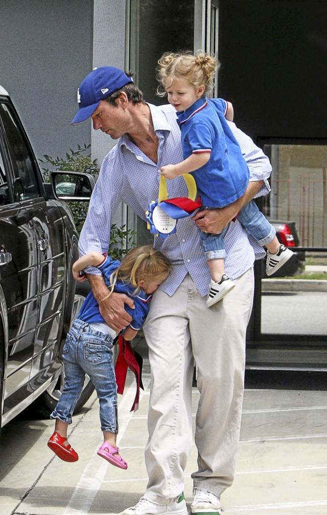 Enfants de stars : Jerry O'Connell est complètement débordé avec des filles Dolly et Charlie !
