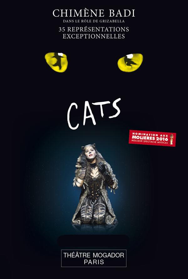 """Des places pour la comédie musicale """"Cats"""""""