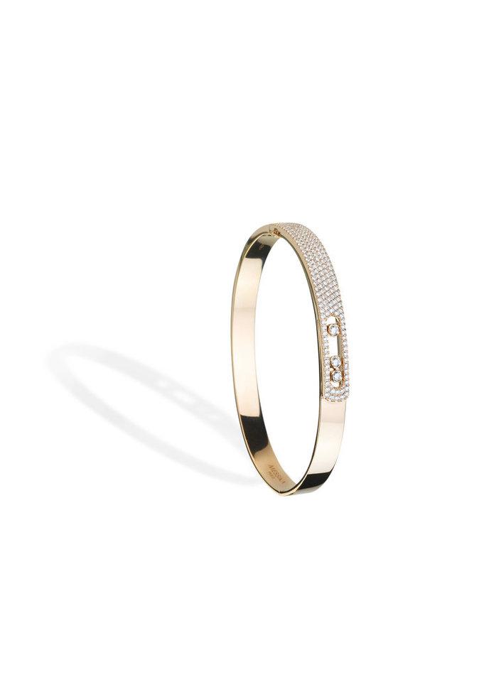 Un bracelet en or et diamants Messika