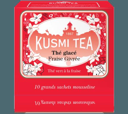 Une boîte de thé glacé Kusmi Tea