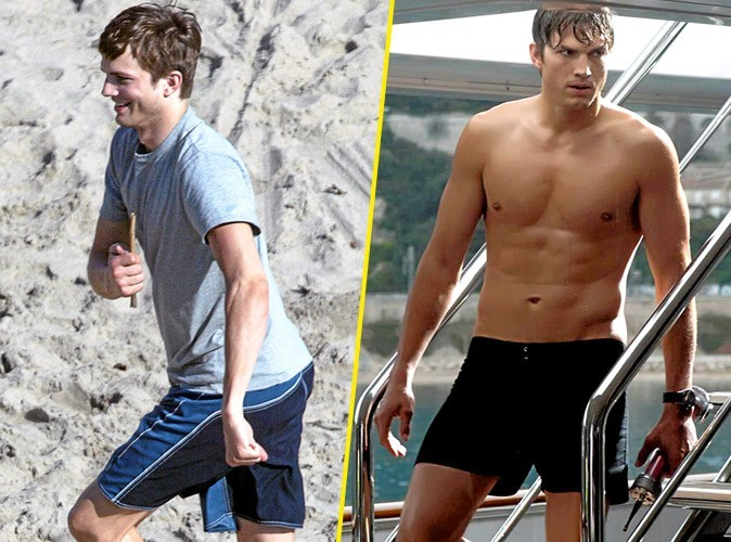 Photos : Ashton Kutcher est de plus en plus musclé !
