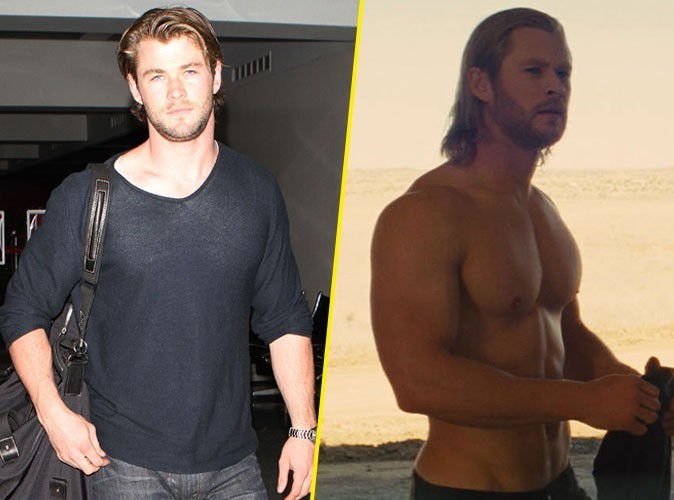 Photos : Chris Hemsworth est de plus en plus sexy !