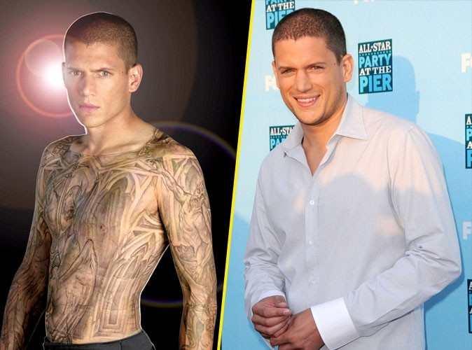 Photos : Wentworth Miller se laisse aller