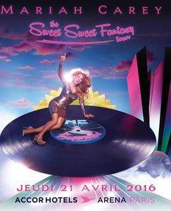 """Mariah Carey, """"Sweet Sweet Fantasy Tour"""