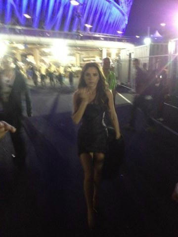 Victoria après le concert