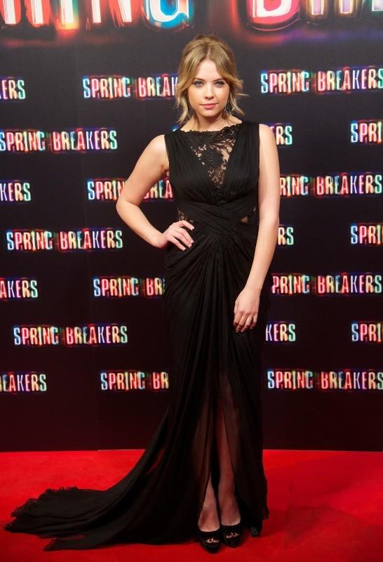 Ashley Benson lors de la première de Spring Breakers à Madrid, le 21 février 2013.
