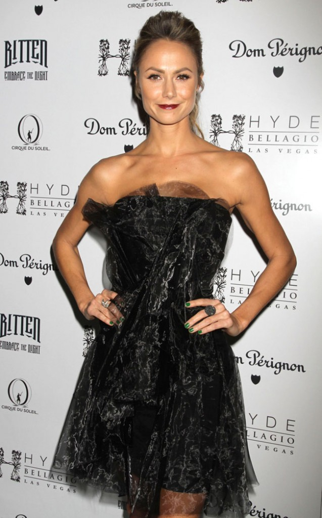 Stacy Keibler le 27 octobre 2012 à Los Angeles