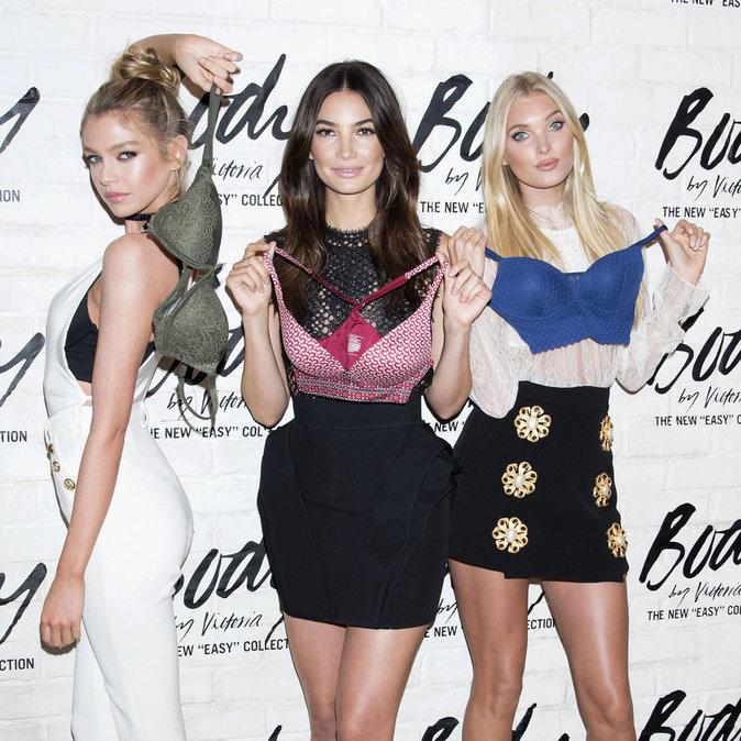Stella Maxwell, Lily Aldridge et Elsa Hosk à New York le 26 juillet 2016