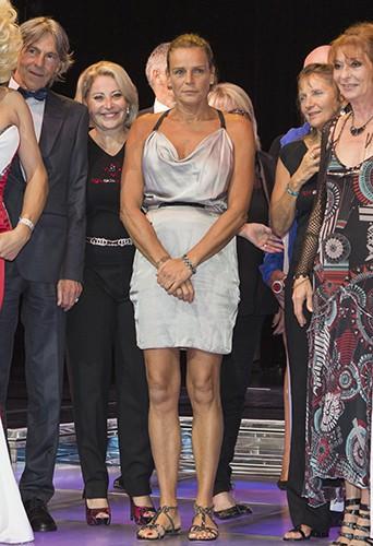 Stéphanie de Monaco à Monte-Carlo le 25 juillet 2014