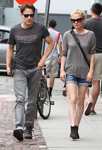 Stephen Moyer et Anna Paquin à Venice Beach le 28 juillet 2013