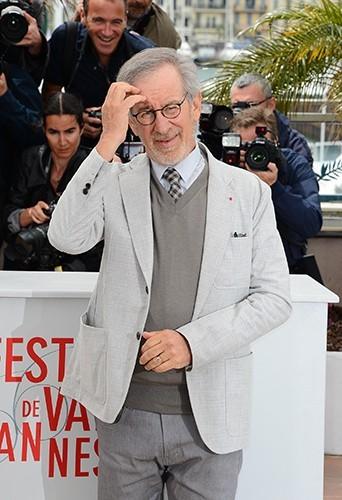 Steven Spielberg à Cannes le 15 mai 2013
