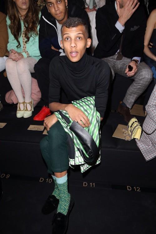 Photos : Stromae : apparition fashion avant de s'envoler pour les Etats-Unis !