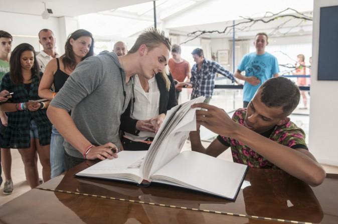 Stromae à la rencontre de ses fans