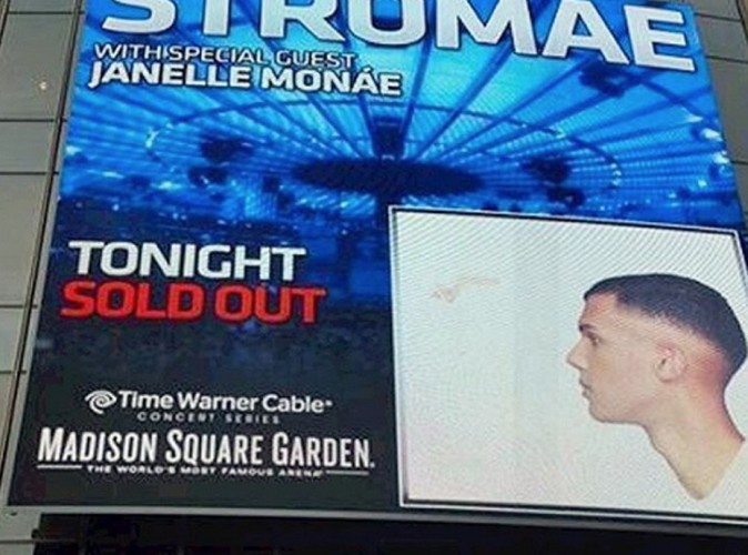 Photos stromae son formidable concert au madison square garden sold out for Madison square garden concert tonight