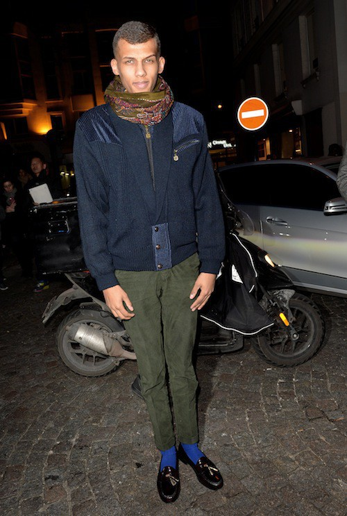 Photos : Stromae : toujours aussi stylé et guest-star du défilé Valentino !