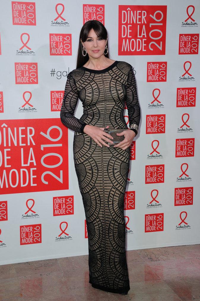 Monica Belluci, toujours aussi belle sur tapis rouge