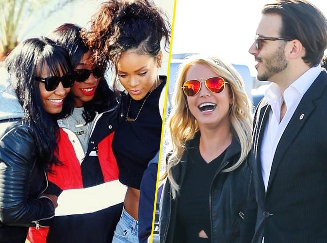 Super Bowl 2015 : Rihanna, Britney Spears, David Beckham... Les stars au rendez-vous pour le match de l'année !