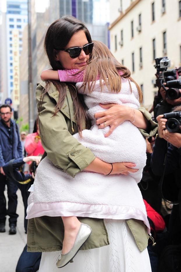 Un gros câlin dans les bras de maman et ça va mieux !