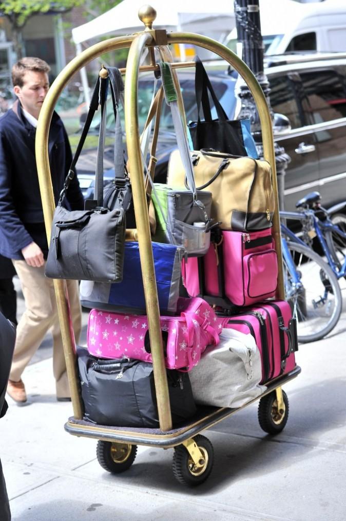 Ses bagages sont délirants !