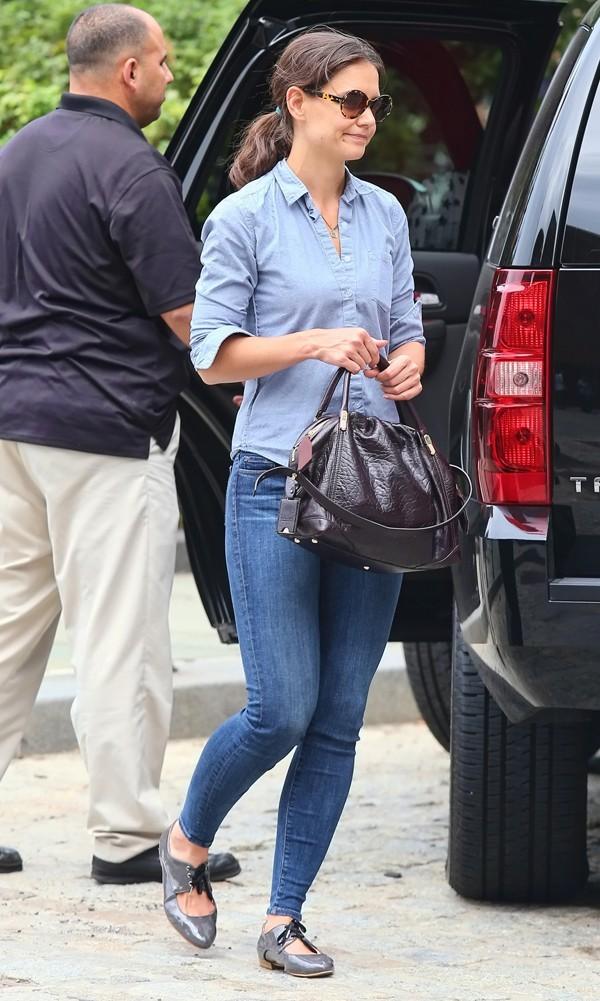 Katie Holmes le 3 septembre à New York