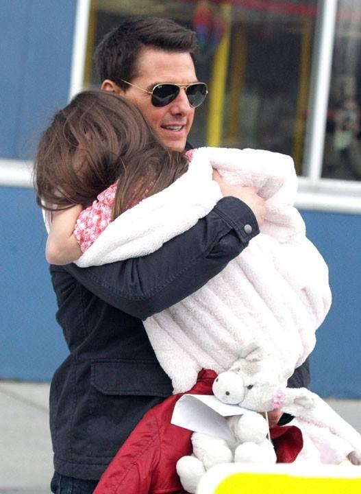 Tom Cruise, papa poule !