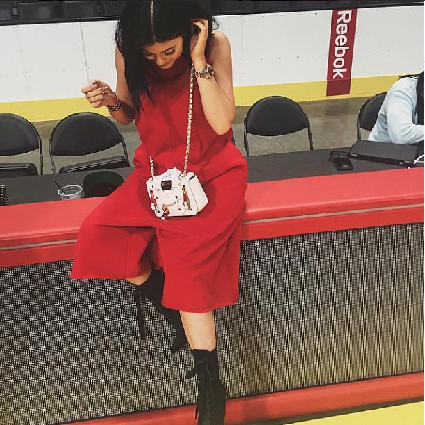 Kylie Jenner le 8 juin 2015