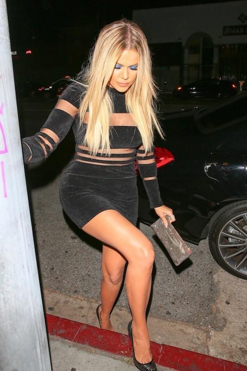 Khloe Kardashian à Los Angeles, le 9 août 2015