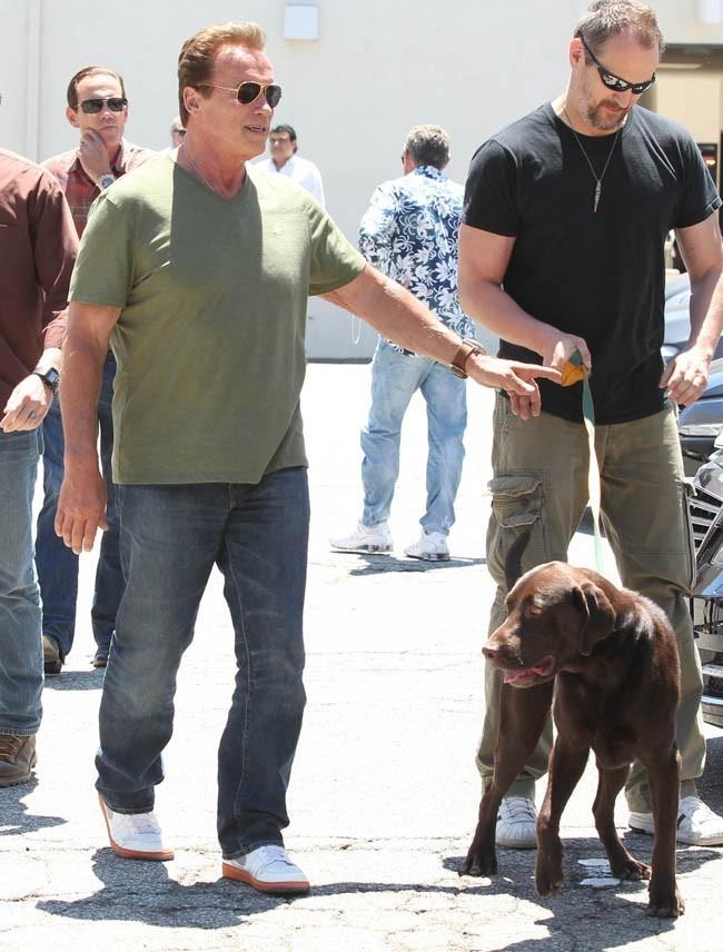 Arnold Schwarzenegger le 1er juillet 2012 à Beverly Hills