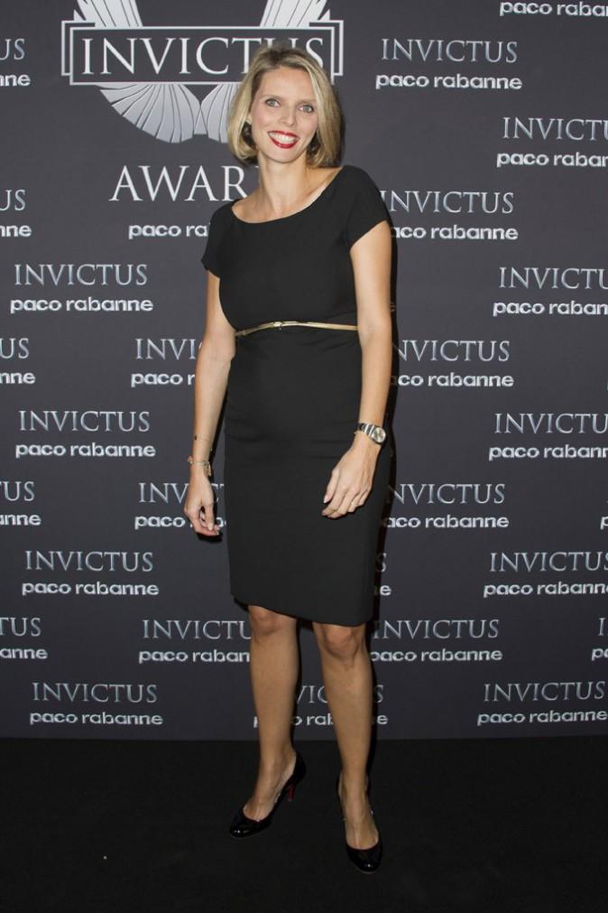 Sylvie Tellier à la soirée de l'Invictus Award organisée au palais de Tokyo, à Paris, le 24 octobre 2013