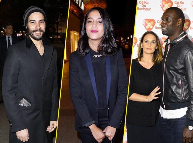 Tahar Rahim et Leïla Bekhti, Omar Sy et Hélène : deux couples radieux pour la promo de Samba !