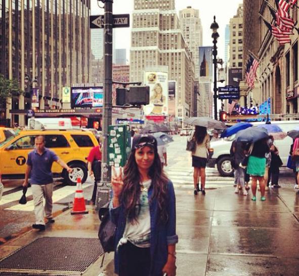 Tal : en vacances à New-York, elle nous fait vivre son american dream !