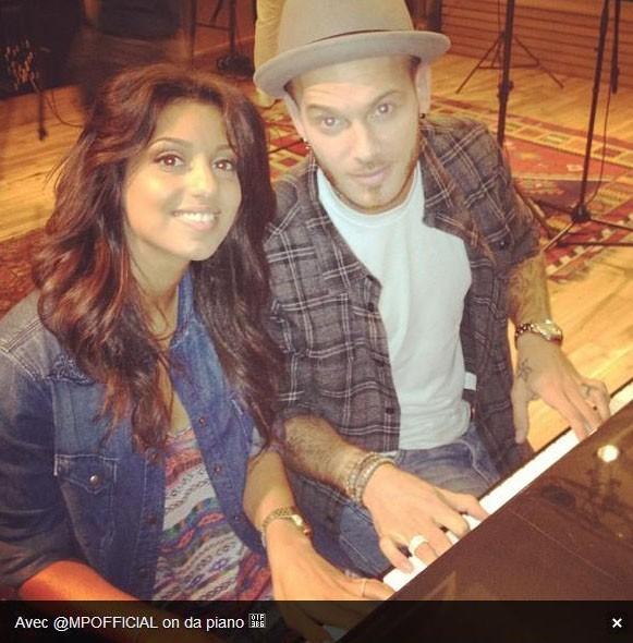Tal et M Pokora en studio le 31 juillet 2012