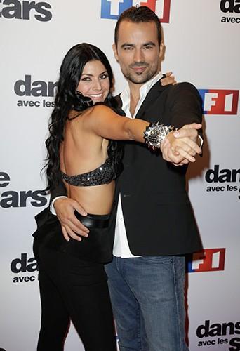 Damien Sargue et Candice Pascal à Paris le 10 septembre 2013