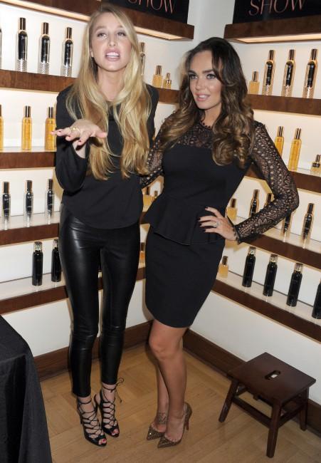 Whitney Port et Tamara Ecclestone lors du lancement de la marque Show à New York, le 23 septembre 2013.