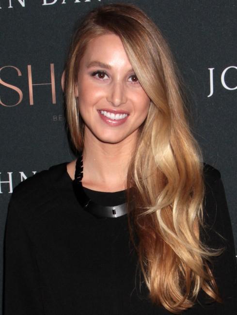 Whitney Port lors du lancement de la marque Show à New York, le 23 septembre 2013.