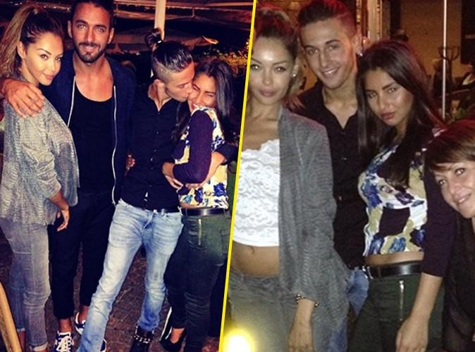 Photos : Tarek Benattia : comblé, Nabilla valide sa jolie girlfriend, Kenza !