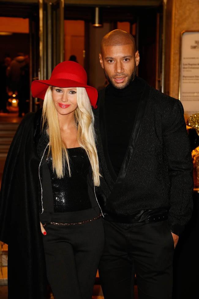 Tatiana Laurens et Xavier Delarue à Paris le 27 novembre 2014