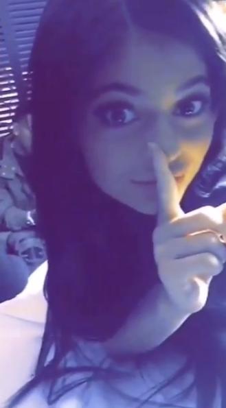 Kylie Jenner le 9 novembre 2015