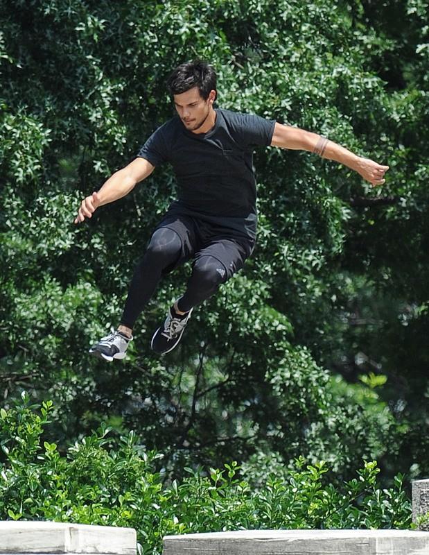 Taylor Lautner le 18 juin 2013 à New York