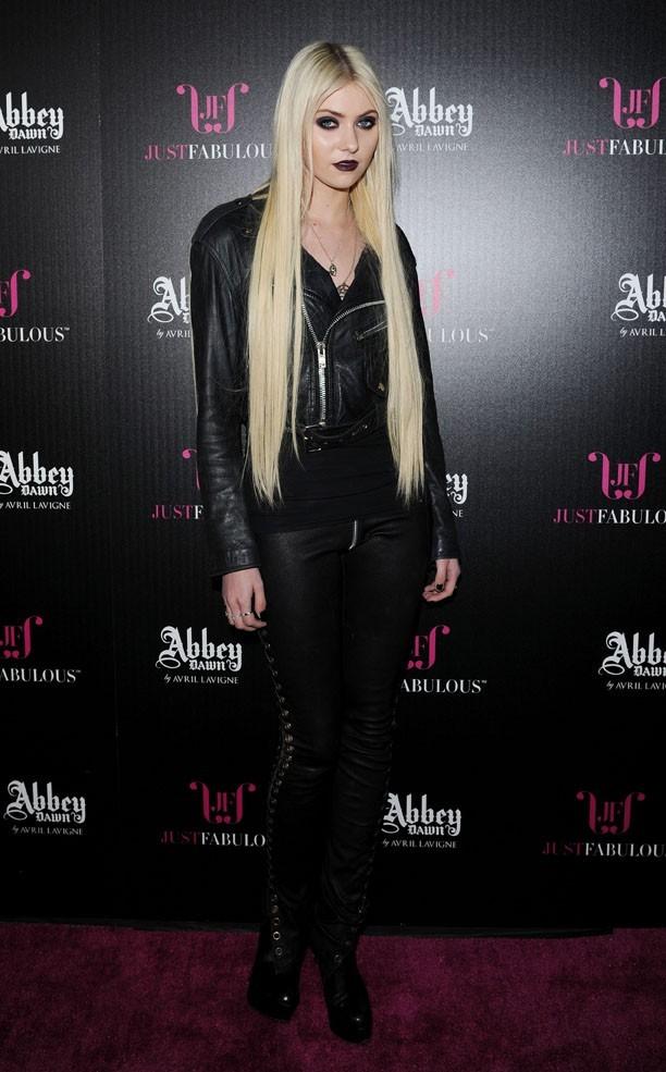 Taylor Momsen à la soirée d'Avril Lavigne !