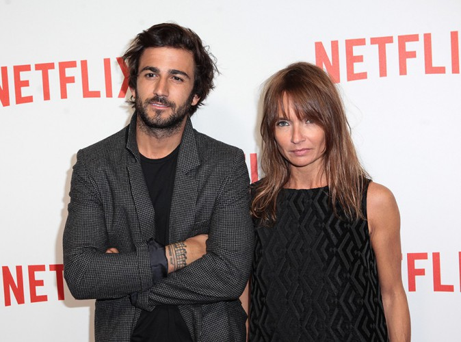Cyril Paglino et Axelle Lafont à Paris le 15 septembre 2014