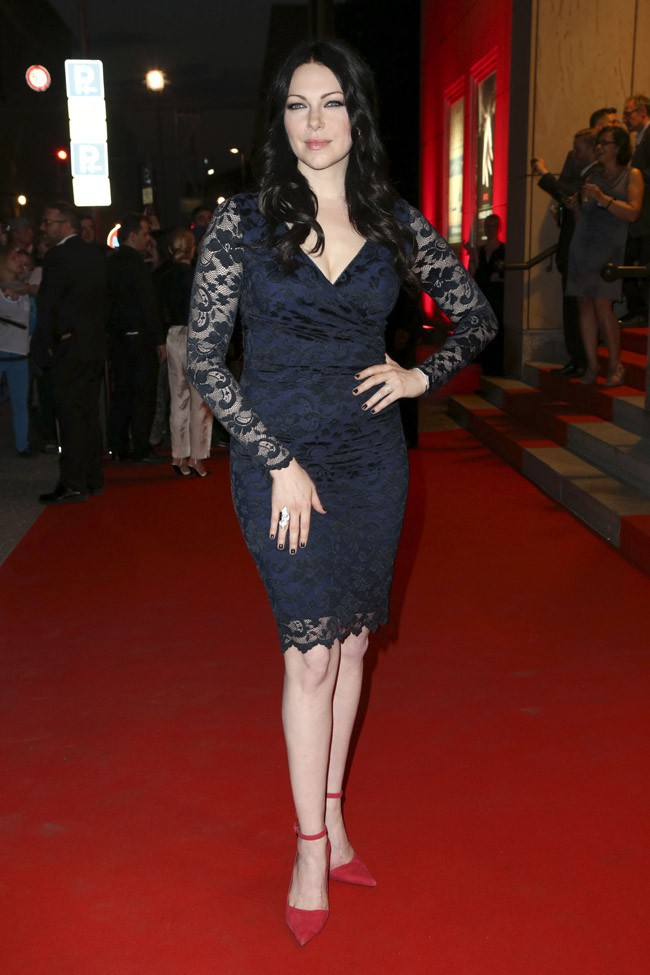 Laura Prepon à Berlin le 16 septembre 2014