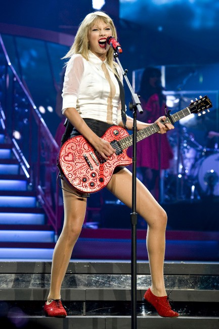 Taylor Swift en concert à Los Angeles, le 19 août 2013.