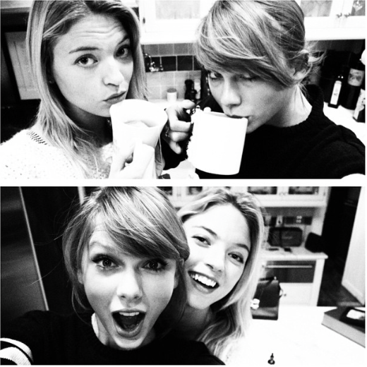 Taylor Swift et Martha Hunt