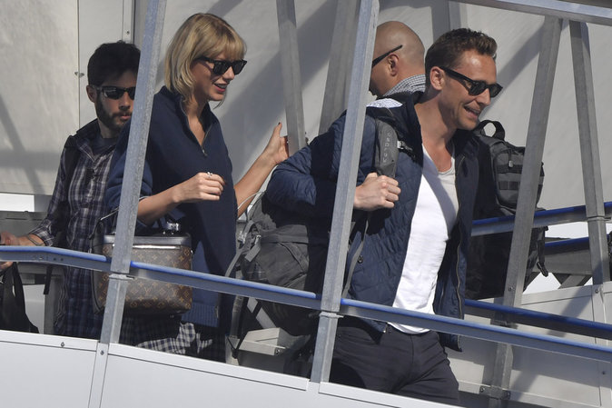 Taylor Swift avec Tom Hiddleston à Sydney le 8 juillet 2016