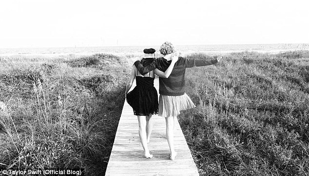 Taylor Swift en vacances en Caroline du Sud...